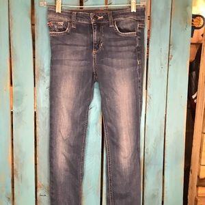 Joe's Jeans 25 Mid Rise Skinny Ankle